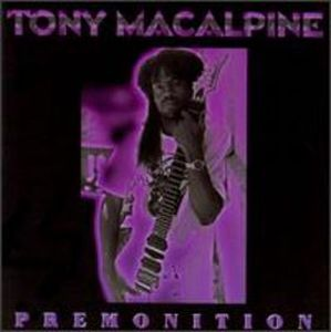 Tony MacAlpine Premonition album cover
