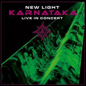 New Light Live in Concert by KARNATAKA album cover