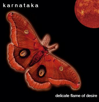 Delicate Flame Of Desire by KARNATAKA album cover