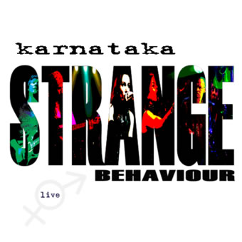 Karnataka - Strange Behaviour  CD (album) cover