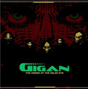 The Order Of The False Eye by GIGAN album cover