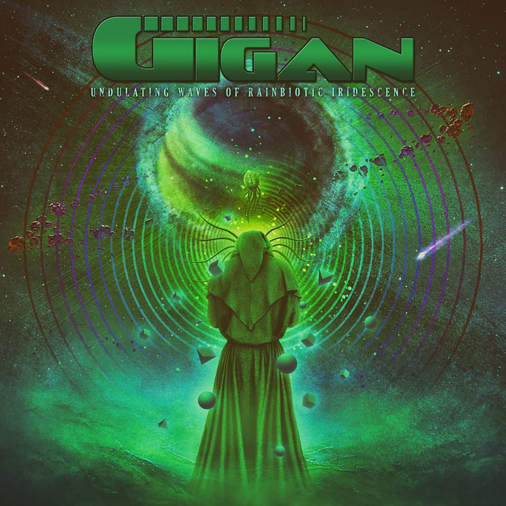 Undulating Waves of Rainbiotic Iridescense by GIGAN album cover