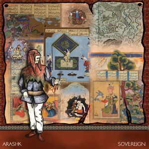 Arashk - Sovereign CD (album) cover