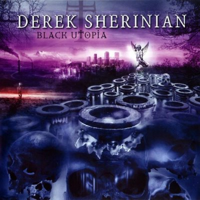 Derek Sherinian - Black Utopia CD (album) cover