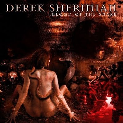 Blood Of The Snake by SHERINIAN, DEREK album cover