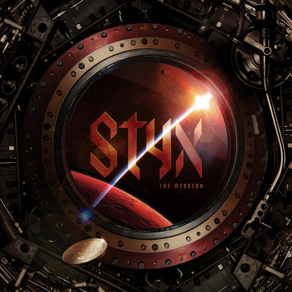 Styx - The Mission CD (album) cover