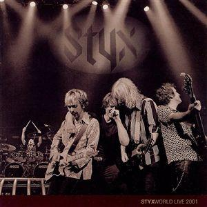 Styx Styxworld Live 2001 album cover
