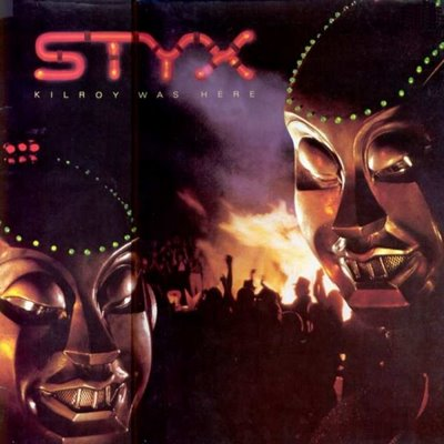 Styx - Kilroy was Here CD (album) cover