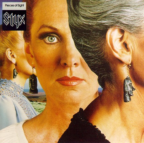 Styx - Pieces Of Eight CD (album) cover