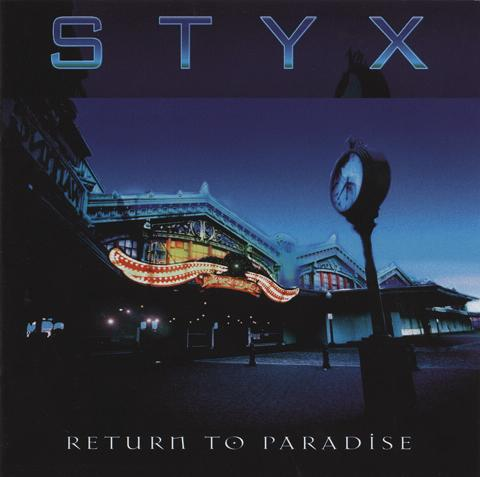 Styx Return to Paradise album cover