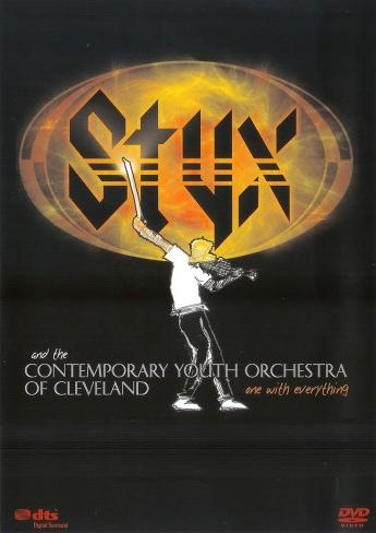 Styx - Styx and the Contemporary Youth Orchestra Of Cleveland: One With Everything CD (album) cover