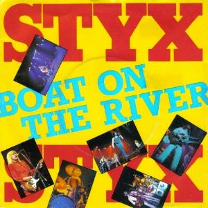 Boat On The River by STYX album cover