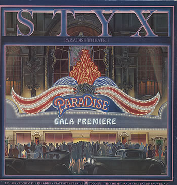 Styx - Paradise Theater  CD (album) cover