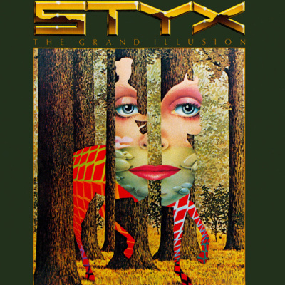 Styx - The Grand Illusion CD (album) cover