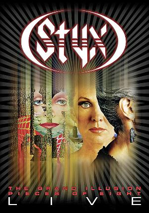 Styx The Grand Illusion / Pieces of Eight Live album cover