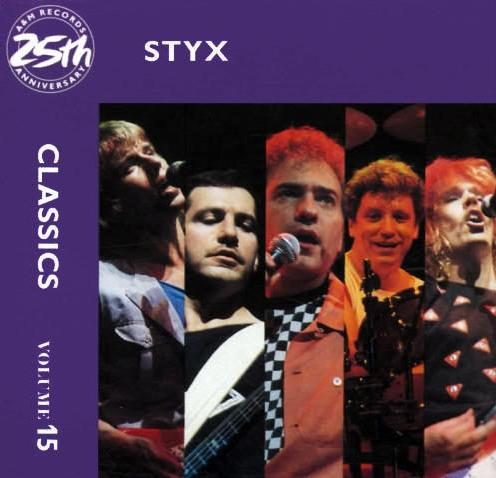 Styx - Classics, Vol 15  CD (album) cover