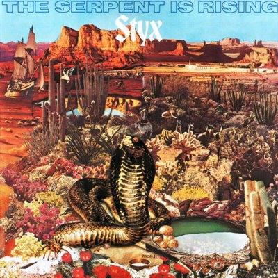 Styx - The Serpent Is Rising   CD (album) cover