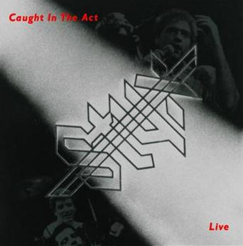 Styx - Caught In The Act Live CD (album) cover
