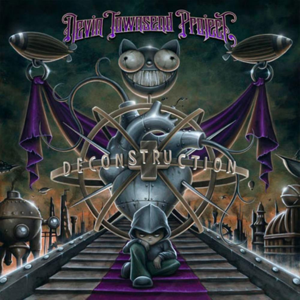 Devin Townsend - Devin Townsend Project: Deconstruction CD (album) cover