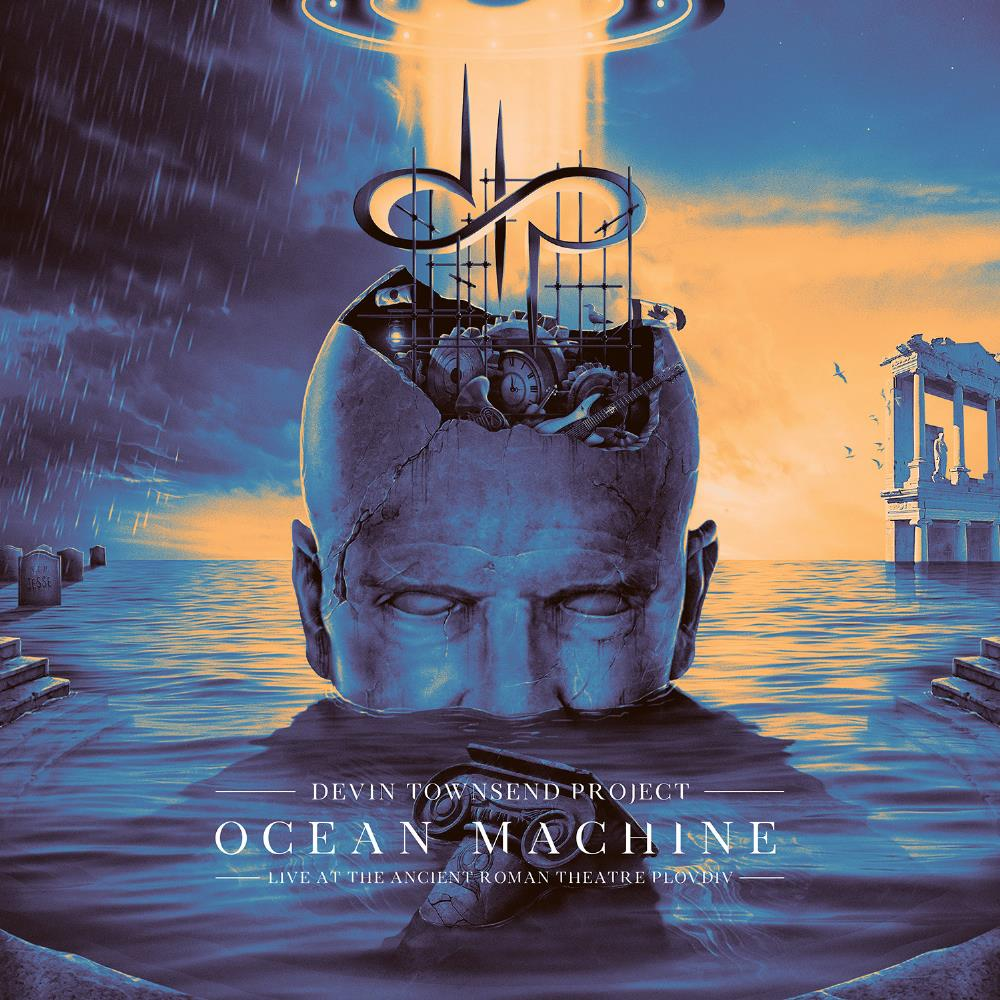 Ocean Machine - Live at the Ancient Roman Theatre by TOWNSEND, DEVIN album cover