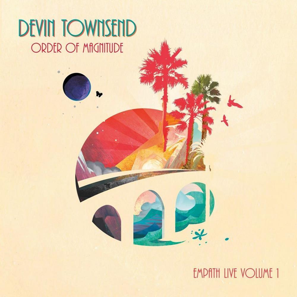 Order of Magnitude - Empath Live Volume 1 by TOWNSEND, DEVIN album cover