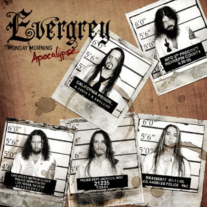 Evergrey - Monday Morning Apocalypse CD (album) cover