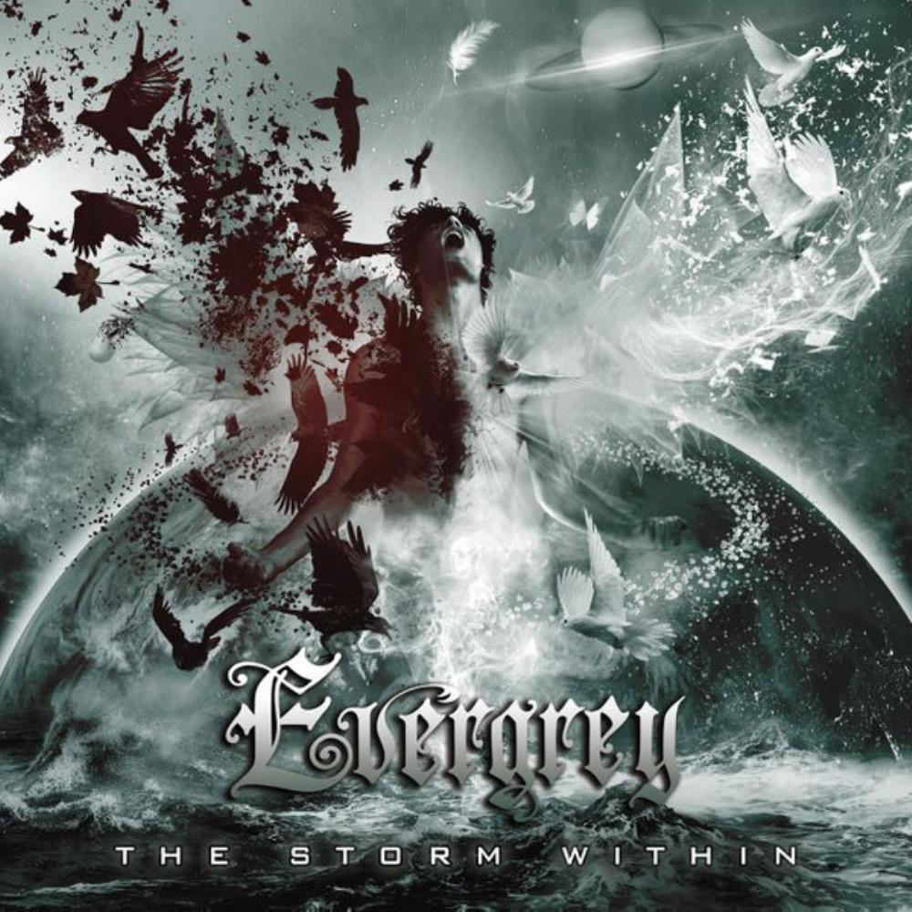 The Storm Within by EVERGREY album cover