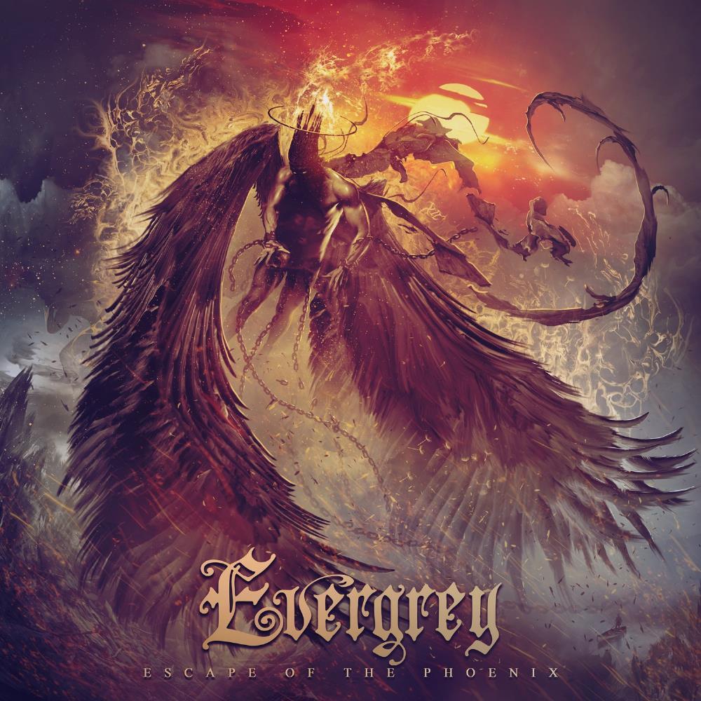 Escape of the Phoenix by EVERGREY album cover