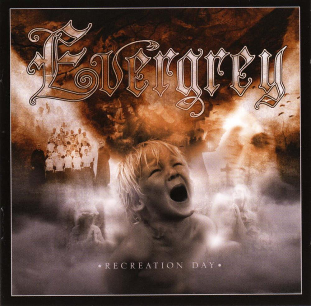 Recreation Day by EVERGREY album cover