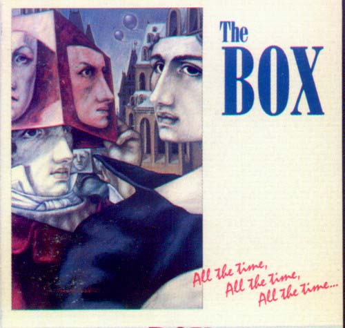The Box - All the Time, All the Time, All the Time CD (album) cover