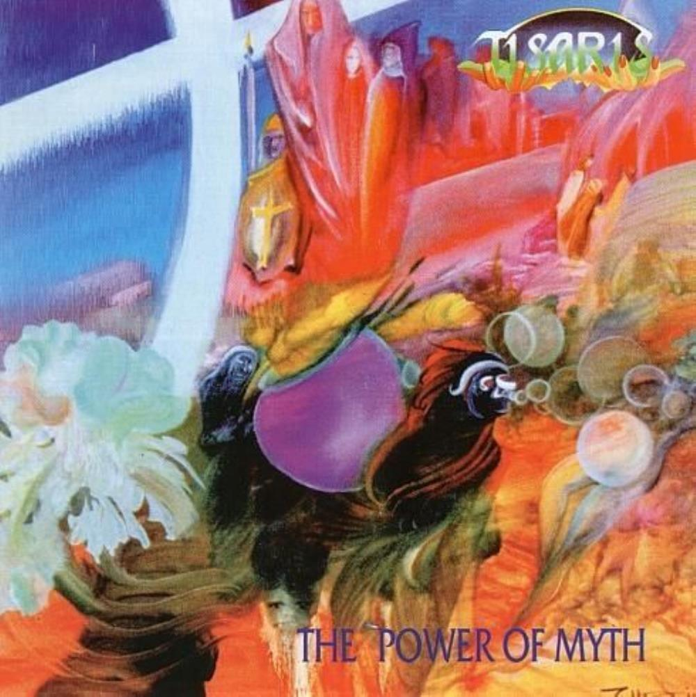 The Power of Myth by TISARIS album cover