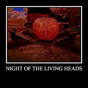 Earthling Society Night Of The Living Heads album cover