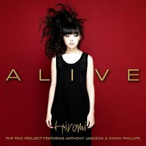 Hiromi Uehara Alive (The Trio Project featuring Anthony Jackson and Simon Phillips) album cover