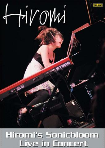 Hiromi's Sonicbloom Live in Concert by UEHARA, HIROMI album cover