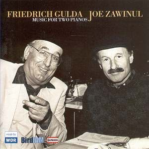 Joe Zawinul Music For Two Pianos [with Friedrich Gulda] album cover