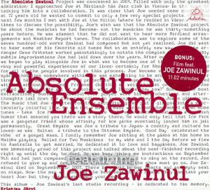 Joe Zawinul - Absolute Zawinul (with Absolute Ensemble) CD (album) cover