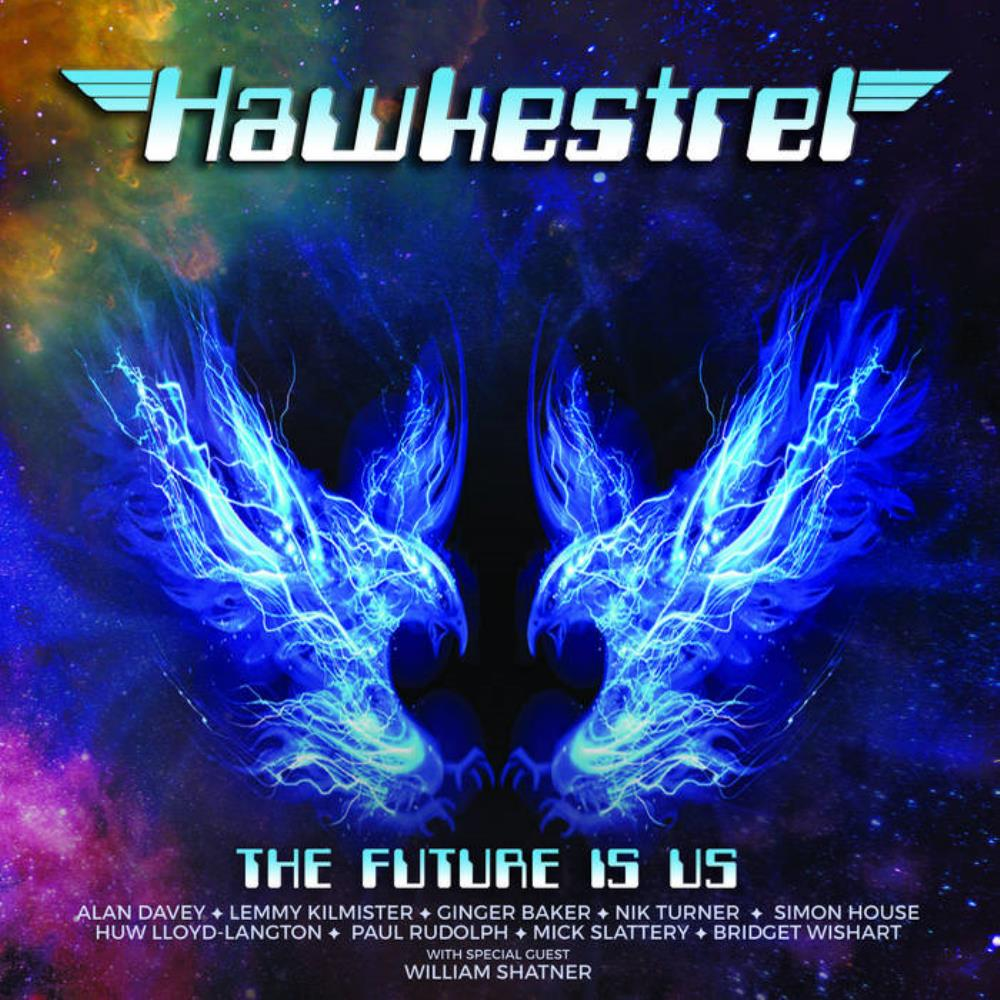 Hawkestrel: The Future Is Us by DAVEY, ALAN album cover