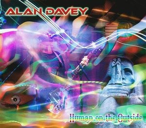 Alan Davey Human on the Outside album cover