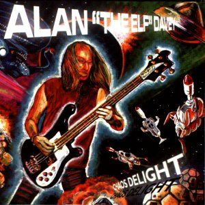 Alan Davey - Chaos Delight CD (album) cover