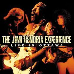 Jimi Hendrix Live in Ottawa album cover