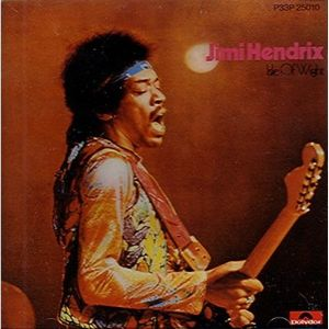 Jimi Hendrix Isle of Wight album cover