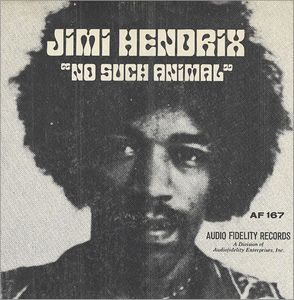 Jimi Hendrix No Such Animal album cover