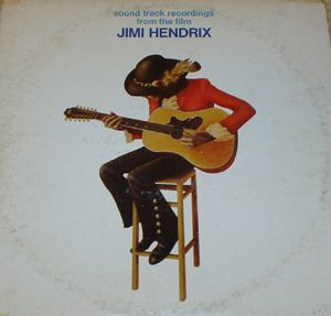 Jimi Hendrix - Soundtrack Recordings from the Film Jimi Hendrix CD (album) cover