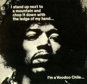 Jimi Hendrix Voodoo Chile (Slight Return) album cover