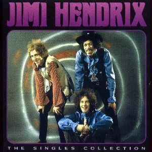 Jimi Hendrix The Singles Collection album cover
