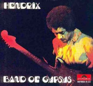 Band Of Gypsys by HENDRIX, JIMI album cover