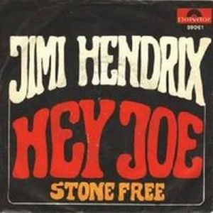 Jimi Hendrix Hey Joe album cover