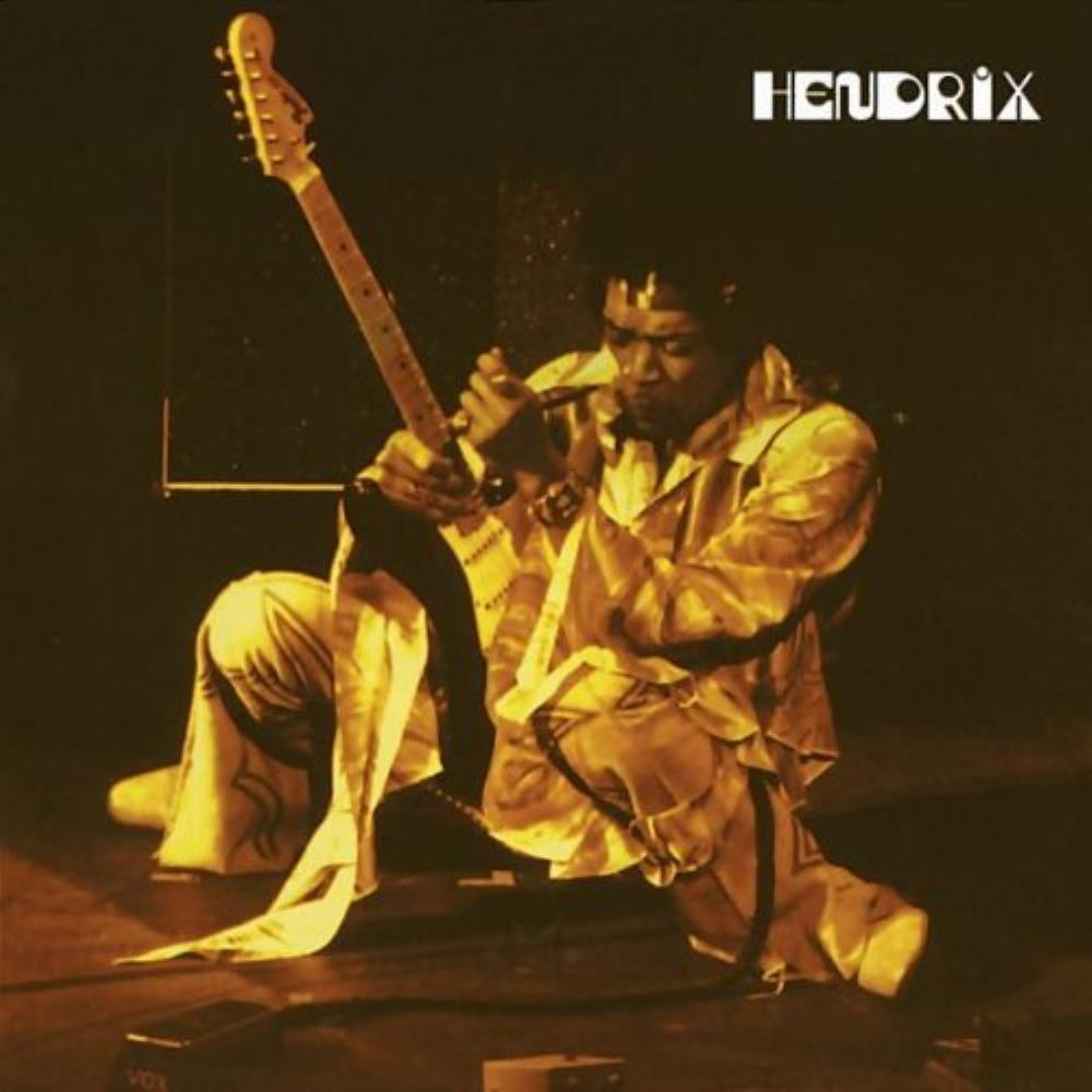 Jimi Hendrix Live at the Fillmore East album cover