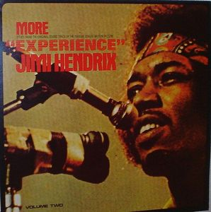 Jimi Hendrix - More Experience CD (album) cover