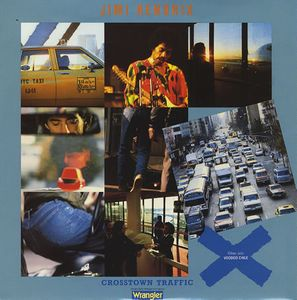 Jimi Hendrix Crosstown Traffic album cover